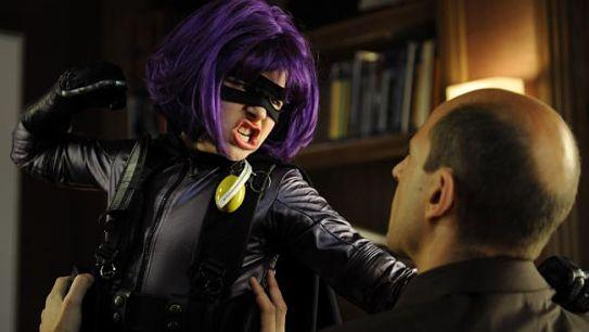 Chloe Grace Moretz as Hit Girl