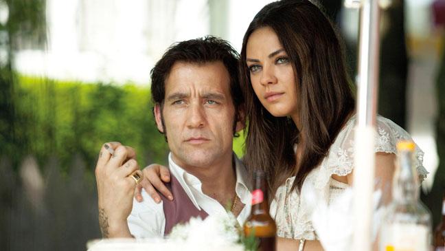 Clive Owen and Mila Kunis in 'Blood Ties'